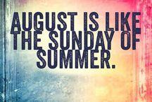 Augusti • August • Août • Agosto • Agosto • August