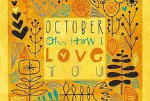Oktober • October • Octobre • Ottobre • Octubre • Oktober