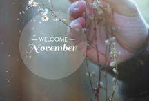 November • November • Novembre • Novembre Noviembre • November