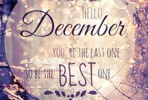 December • December • Décembre • Dicembre • Diciembre • Dezember