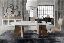 Furniture Evolución / Muebles con nuevo estilo fabricados con maderas de mobila con acabados erosionados, nuevos colores, nuevas formas ideales tanto para interiores como para exteriores semicerrados.