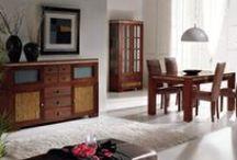 Karey muebles estilo étnico / Colección de estilo étnico fabricada en madera de fresno que combina con caña de azúcar, detalles de nácar incrustado y cajones arañados artesanalmente con tiradores en piel y aluminio pulido. http://www.casanova-gandia.com/Profesionales/catalogos/catalogo-karey.aspx