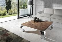 Mesas de centro de diseño / Mesas de centro de diseño autodidacta, fabricadas con maderas naturales de alta calidad pensadas para espacios diferentes