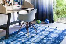 Ethno indigo / Tie & Dye / Spring