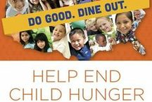 #NoKidHungry / Visit nokidhungry.org to make a contribution and ensure there is #NoKidHungry.