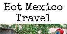 HOT Mexico Travel / Mexico is full of life, culture & great food! Find out what makes Mexico muy caliente! Everything that makes California a hot destination to visit. Articles include Mexico Travel, Mexico Road Trips, Mexico City Guides, Mexico travel with kids, Mexico Information, and everything you need to know to Visit Mexico. #Mexico #FamilyTravel