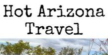 HOT Arizona Travel / Everything that makes Arizona a hot destination to visit. Articles include Arizona Travel, Arizona Road Trips, Arizona City Guides, Arizona travel with kids, Arizona Information, and everything you need to know to Visit Arizona from Tombstone to Phoenix and Scottsdale to Laughlin. #Arizona #FamilyTravel