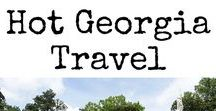 HOT Georgia Travel / Everything that makes Georgia, United States a hot travel destination. Articles include destination guides, travel tips, travel with kids, hotel reviews and more. #Georgia #UnitedStates