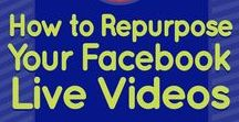 Facebook Live / Tips for hosting live video shows and creating live streaming content on Facebook Live.