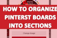 Pinterest Sections (Board Sections)