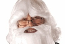 Santa Wigs and Ideas / Fun Santa ideas / by My Costume Wigs - Jennifer