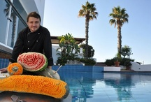 Romantica #Vegetable #Sculptures / Masterpieces created by our head Chef Raffaele.
