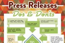 Free Press Release Tips for Authors / Looking for some free press release tips for authors?  Check out these pins...
