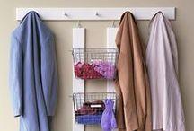 Organizace, šatny, skříně