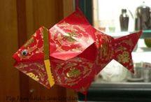 CNY, red envelopes, lanterns, ang pow, hong bao / by Stacey Plassmann