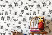 Ispirazioni / adesivi murali, carta da parati, wallpaper e stickers originali!