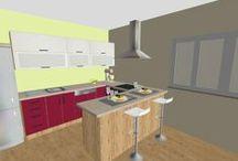 3D vizualizácie / realizácie, projekty, interiérový dizajn