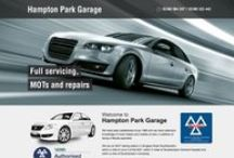 Automotive Website Portfolio- Toolkit Websites - Web Design Southampton / Websites in the Automotive Industry