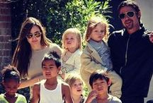 FAMILY AFFAIR / Celebrities with their spouses (past or present), children, family members. / by Elizabeth Yeung