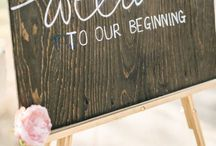 Wedding dreams / Budgeting, organising and awesome ideas.