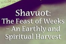 Shavuot / The Bride has made herself ready.  As we count up to Shavuot, we prepare ourselves for the Bridegroom.  We count the days to the betrothal. On Shavuot we rejoice as the Bride, with flowers, dancing, and a Biblical feast.