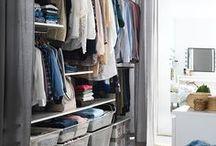 Closets e guarda-roupas