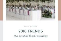 2018 Wedding Trends / Our 2018 Wedding Trend Predictions