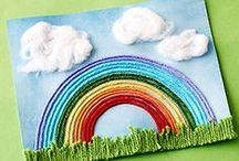 Tolle Bastelideen / Für und mit Kindern basteln und textil gestallten.