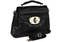 Leather Satchel Handbag / We sell leather satchel handbag at our online handbag store with international shipping. http://www.transfashions.com/en/women/bags.html
