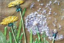 Stickkunstwerke / Zauberhafte Stickideen zum inspieren lassen und schöne Templates zum nacharbeiten- gesammelt im www