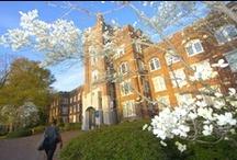 Location! Location! / Catawba College's beautiful campus is located in historic Salisbury, North Carolina.
