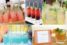 Signature Wedding Cocktails  / Create a signature drink your guest will love!
