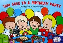 Food Allergy Books / Picture books for children with Food Allergies. My Food Allergy Friends was launched to raise awareness and help educate children who suffer with Food Allergies.
