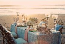 Table-Scapes / Find your perfect table set-up www.CaboBeachWeddings.com