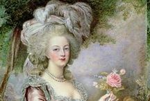 Images of Marie Antoinette / Pictures of Queen Marie Antoinette (1755-1793), her life, her fashions and her tumultuous times, including past and contemporary paintings and drawings and cartoons as well.  / by Axel Fersen