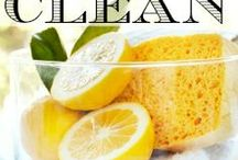 DIY Non Toxic Cleaning