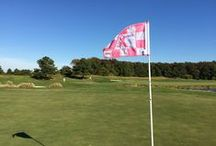 Breast Cancer Awareness Month / October is National Breast Cancer Awareness Month, and we are doing what we can to help raise awareness. During the month of October, facilities worldwide will be flying a pink flag on hole 18 to help raise awareness. #BreastCancerAwareness