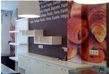 Diseño interior, murales, vinilos decorativos
