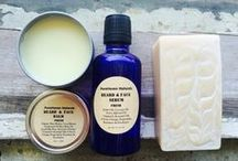 Men's Natural Non-Toxic Skin Care By PureHaven Naturals / Find Me On Etsy!  Handmade. Vegan-Friendly Range. All-Natural. No Hidden Nasties.