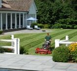 Lawn & Garden Care / Hoffman Landscapes Total Approach offers all the services you require for complete property care. From weekly mowing, perennial care, snow plowing, irrigation, and more!