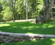 Patios, Walkways, Retaining Walls / Talk to a Hoffman designer today about your patio, walkway, or retaining wall needs! www.hoffmanlandscapes.com