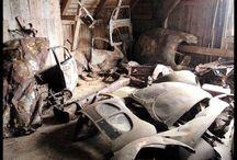 Barn Finds / Forgotten in a barn / by Jerri Ross