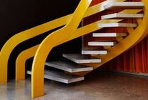 z- Stairs, Fireplaces, Sculptures *1* (closed board) / The active boards are those with the highest numbers in their title. When they have about 900 pins, I start a new one for that category.... / by Veronica Kaiser
