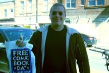 Free Comic Book Day / Free manga?  You bet! Cosplay and fans during annual FCBD.