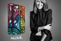 Nina Garcia - Brazilian Pop! / Drawing on her extensive experience and constant exposure to the latest trends, Nina Garcia  worked with OtterBox to create a premium, limited edition fashionable case — Symmetry Series Brazilian Pop! / by OtterBox