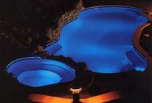 HOME - POOLS - Above Ground Pool Ideas / From Decking to Lighting and Heating, here are some great ideas to think about for your above ground pool!