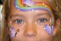 Face Painting / Ideas for the beginner and some other ideas to inspire us to try other ideas...