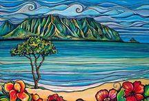 Painting Nature / tvorba