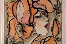 Painting Figures / malba obličeje a postavy