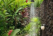 DIY - Outdoor Shower Ideas